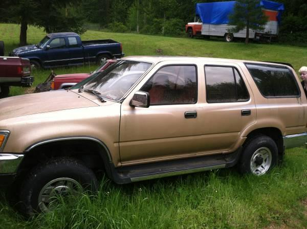 Parting Out 1990 Toyota 4-Runner - $1