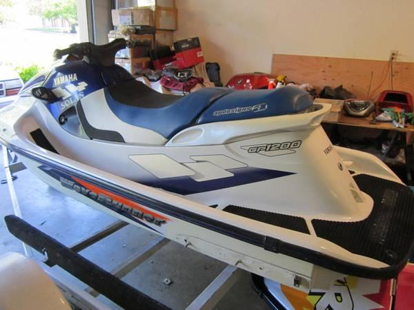 Parting Out 1998 Yamaha Gp1200 Waverunner Jet Ski For