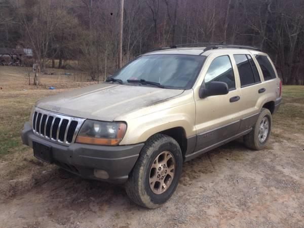 Parting out 1999 jeep grand cherokee