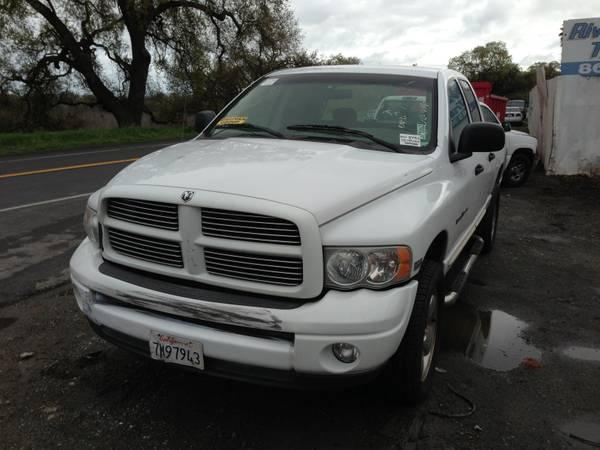 PARTING OUT 2004 DODGE RAM 1500