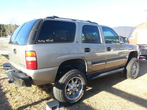 parts 2001 02 chevy tahoe 4x4 for sale in new bern north carolina classified. Black Bedroom Furniture Sets. Home Design Ideas