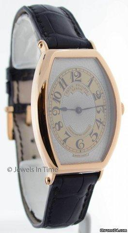 Patek Philippe 5098 Gondolo 18K Rose Gold Mens Wrist