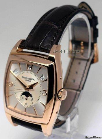 Patek Philippe 5135 Gondolo Calendario 18k Rose Gold