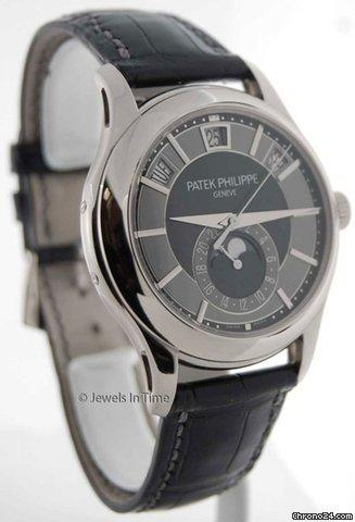 Patek Philippe 5205 Annual Calendar 18K White Gold Mens