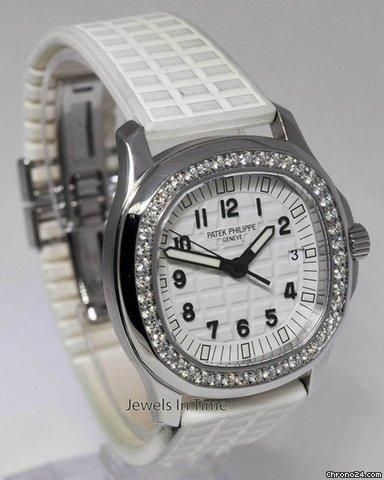 Patek Philippe Aquanaut Luce White Steel & Diamond