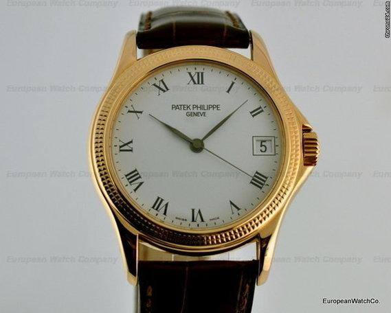 patek philippe calatrava 18k rg 5117r for sale in boston. Black Bedroom Furniture Sets. Home Design Ideas