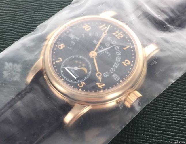 Patek Philippe Rose Gold Perpetual Retrograde Minute