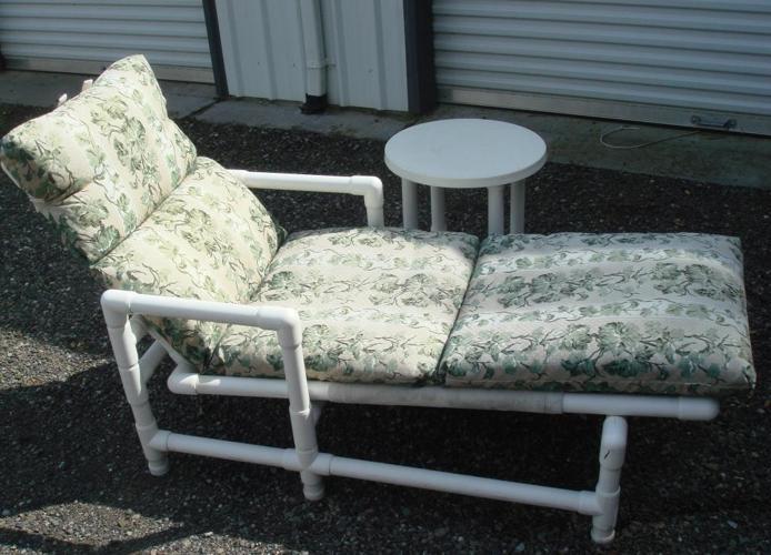 Patio Set Heavy Duty White Pvc Plastic Lynden For Sale In Bellingham Washington