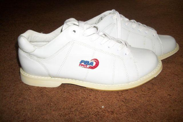 PBA Mens Leather Bowling Shoes Size 8