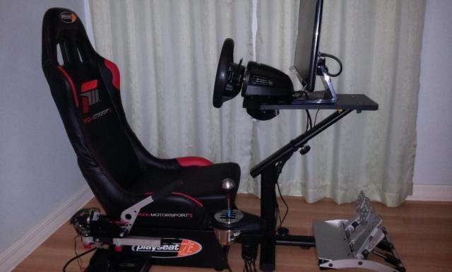 PC driving set  Playseat, Fanatec, Thrustmaster, Buttkicker  Custom