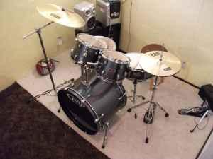 PDP 5 pc drum set barely played - $400 (abilene)