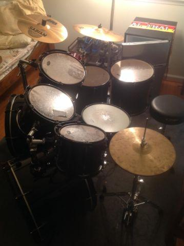 pdp 8 piece drum set for sale in wilmington delaware classified. Black Bedroom Furniture Sets. Home Design Ideas