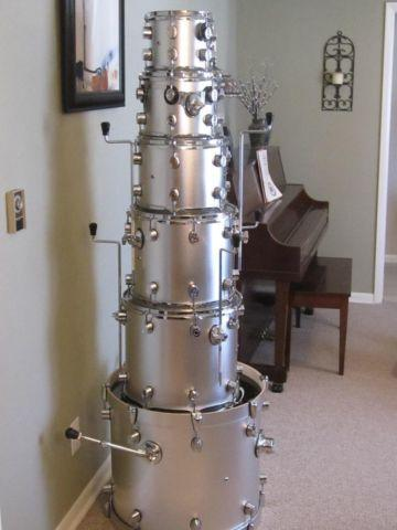 Pdp X7 Drum Set Shell Pack And Ludwig Acrolite For Sale In Bolivar