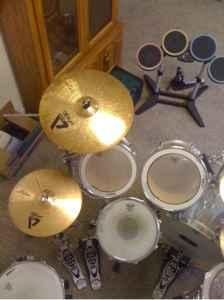 Pearl drum set and cymbals - $750 Fairbanks