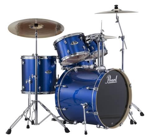 pearl drums set export series with hardware new for sale in harrisburg pennsylvania. Black Bedroom Furniture Sets. Home Design Ideas