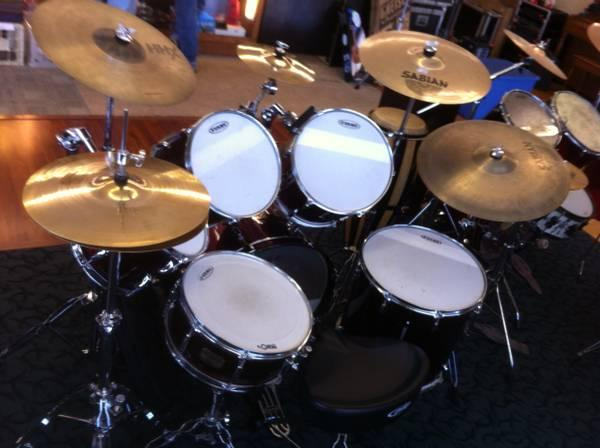 Pearl Drums with Sabian Cymbals - $950