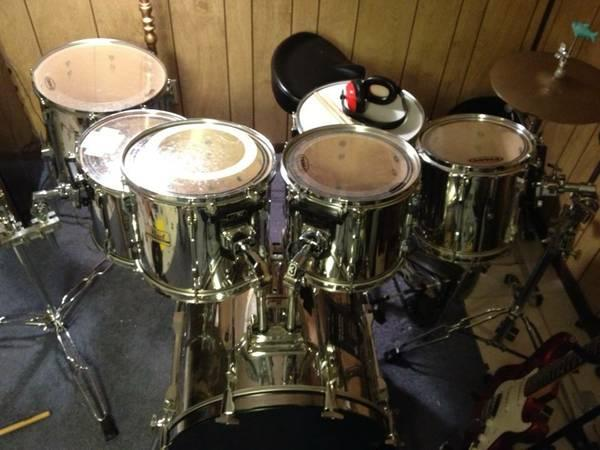 Pearl Export Drum Shell Pack- 7 Piece - $450