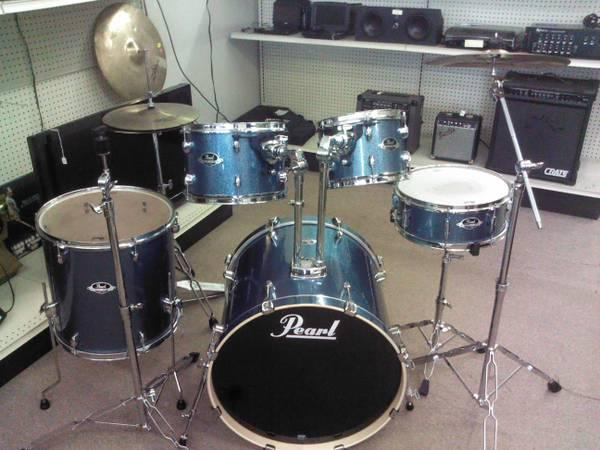 Pearl Export series drum set - $399