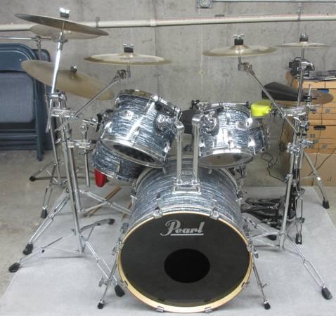 pearl exr export series drum set for sale in lewiston minnesota classified. Black Bedroom Furniture Sets. Home Design Ideas