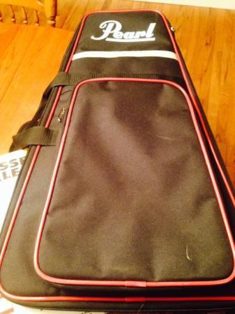 Pearl PK900C Educational Bell Kit w practice drum padsticks and book - $150