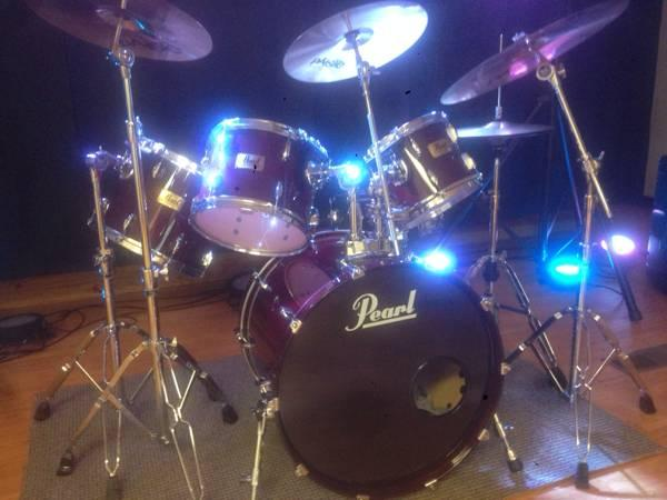 Pearl Prestige session select drum set - $1200