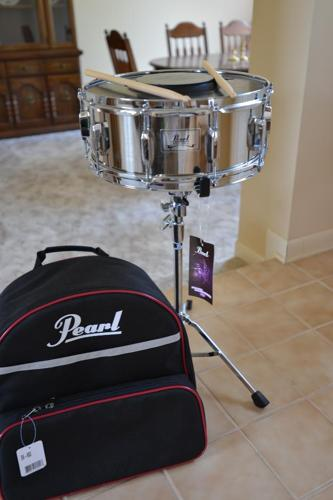 pearl sk900 snare drum kit with back pack for sale in hernando mississippi classified. Black Bedroom Furniture Sets. Home Design Ideas