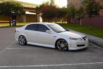 pearl white 2006 acura tl tires are good for sale in san diego