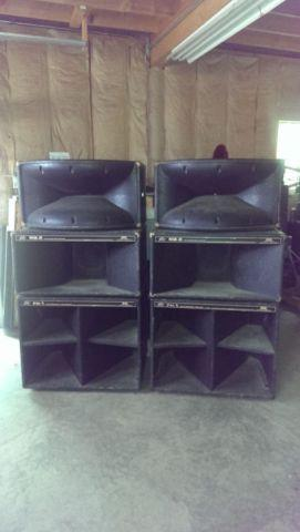 peavey 12 piece pa speaker system for sale in clymer new york classified. Black Bedroom Furniture Sets. Home Design Ideas