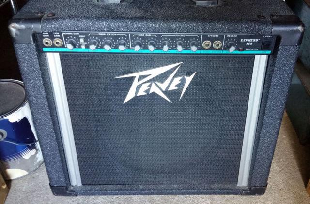 Peavey Express 112 65 Watt Guitar Amp - Blue Trim