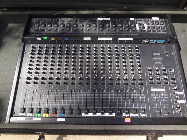 Peavey MD iii 16 channel mixer sound board - $250