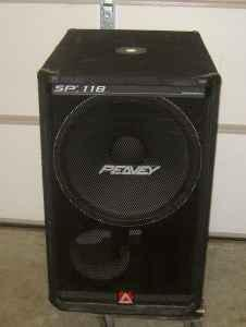 Peavey Sp 118 Pa Sub Speaker Gonzales Baton Rouge For