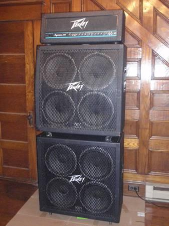 peavey supreme 160 full stack for sale in hagerstown maryland classified. Black Bedroom Furniture Sets. Home Design Ideas