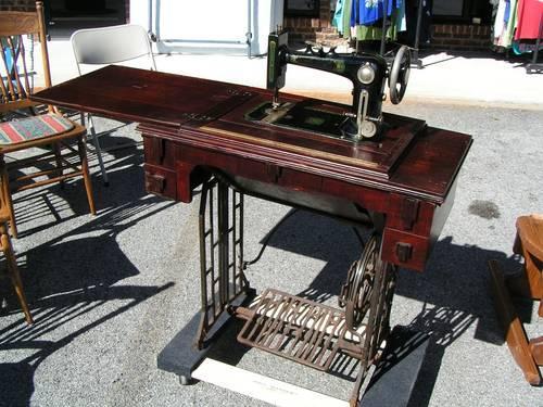 pedal sewing machine okeh specula made in usa