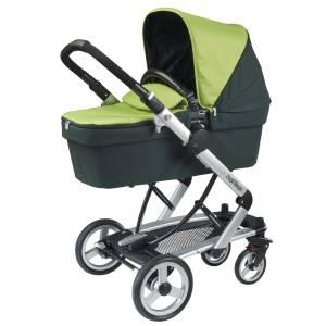 Peg Perego 2010 Skate Stroller with Bassinet in Kiwi - $650 Clovis