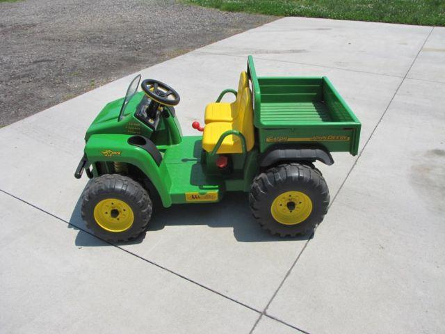 peg perego john deere gator hpx ride on tractor for sale. Black Bedroom Furniture Sets. Home Design Ideas