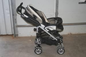 Peg Perego Pliko P3 Stroller and Carseat with assessories - $125 Clovis, NM