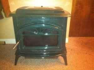 Pellet Stove Look - $700 (Castleton)