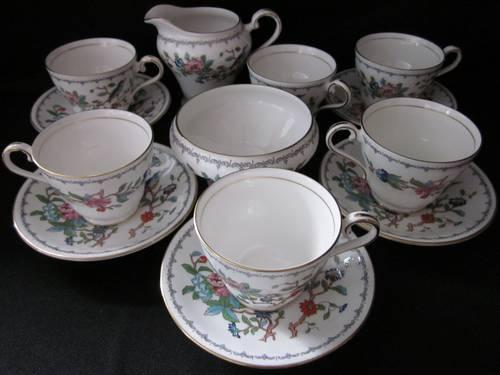 Pembroke Tea Set, Aynsley, England, Fine English Bone