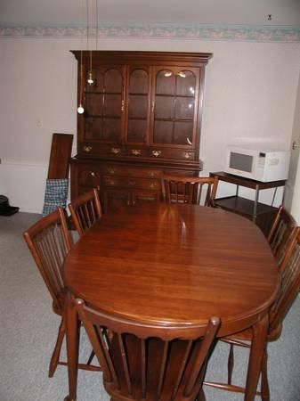 pennsylvania house dining room table 6 chairs for sale