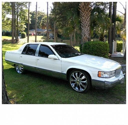 Pensacola 1996 Cadillac Fleetwood Brougham 5 For Sale In