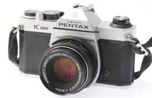 Pentax K1000 35mm SLR Film Professional Camera with 50mm Lens