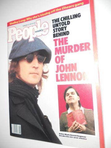 People Magazine February 23 1987 John Lennon