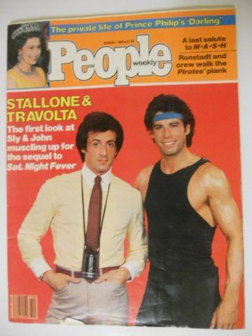 People Magazine, March 7 1983 *Stallone & Travolta*