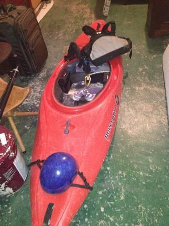 perception 3D whitewater kayak - $350