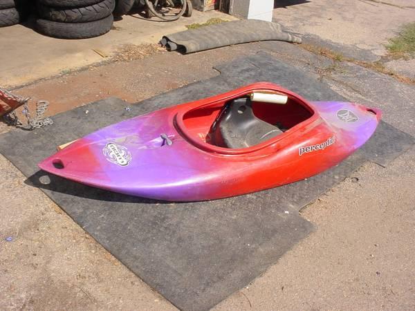 Perception Lucid Whitewater Kayak/Playboat - $250
