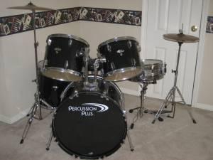 Percussion Plus 5piece Drum Set - $180 West Mobile