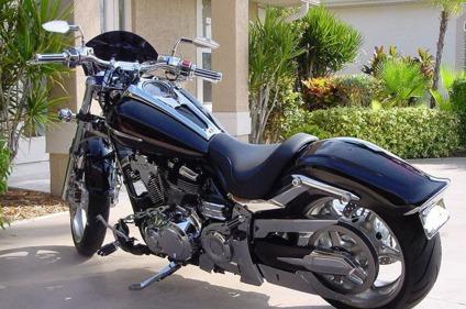 Perfect 2009 Yamaha Raider S