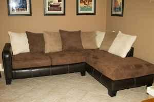 Perfect Ultra Comfortable Microfiber Sectional Sofa