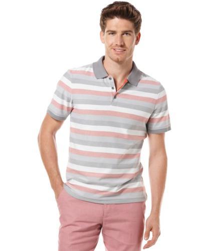 Perry ellis big and tall shirt stripe polo shirt for sale for Big and tall polo shirts on sale
