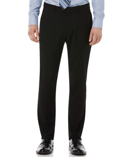 Perry Ellis Portfolio Pants, Very-Slim-Fit Flat Front